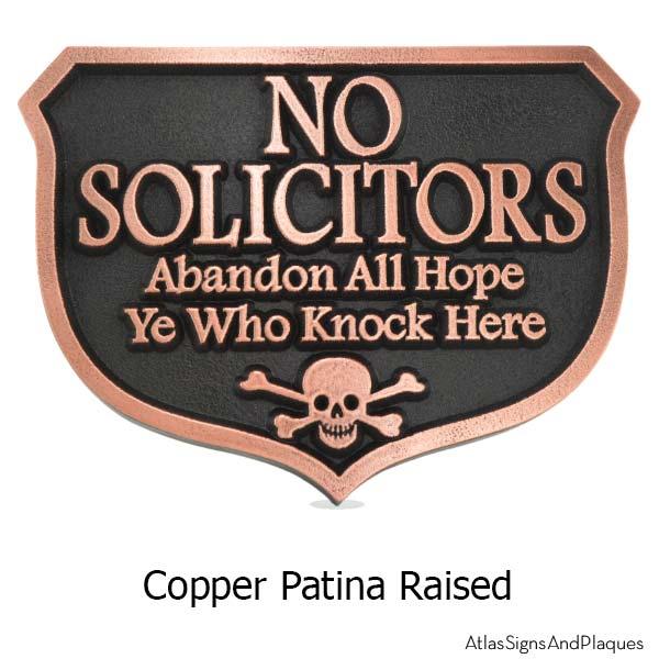 Abandon Hope Solicitors - Copper