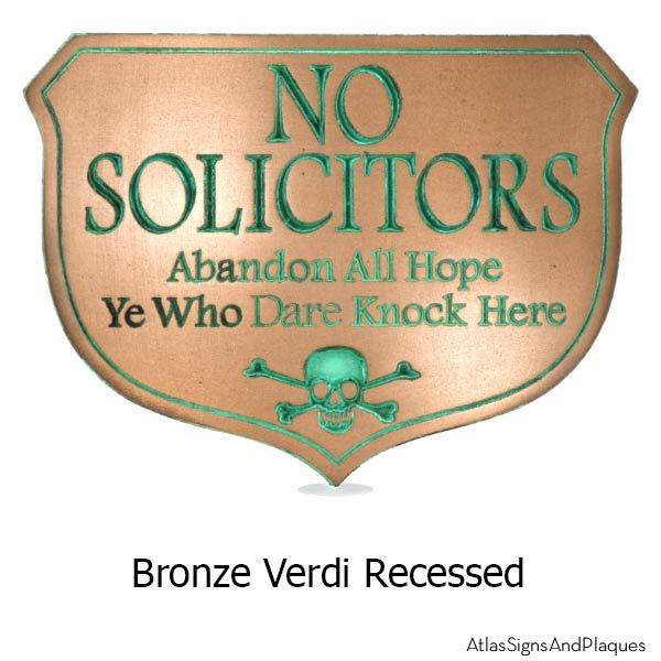 Abandon Hope Solicitors - Bronze Verdi