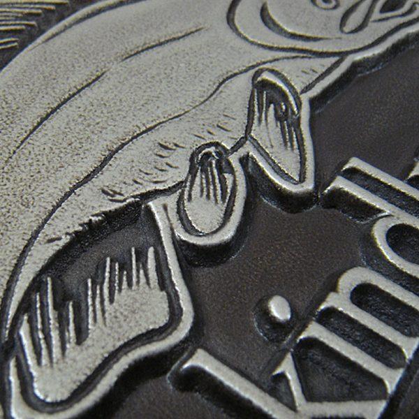 Alaska Welcome Please Remove Shoes Salmon Plaque
