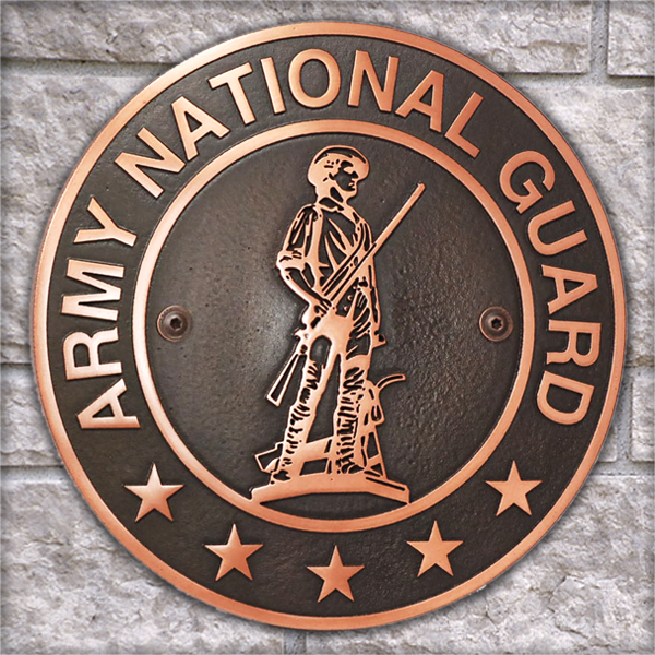Army National Guard Plaque Atlas Signs And Plaques