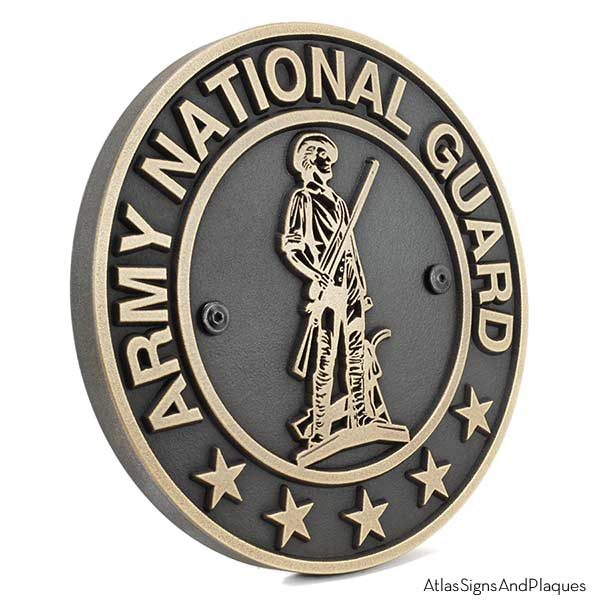 Army National Guard - Brass