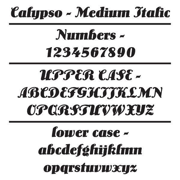 Calypso Home Numbers