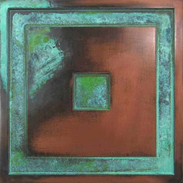 Copper Verdi  (Blue/Green)