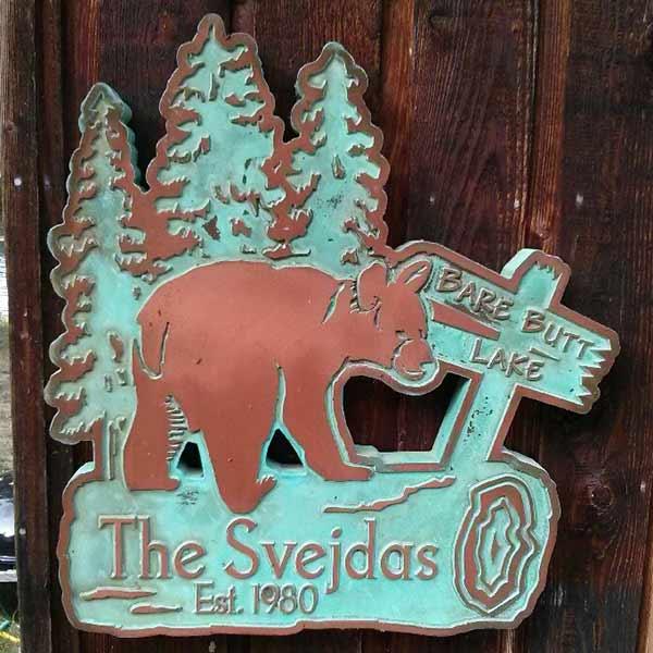 Thanks Svejdas! We love this Copper Verdi Plaque