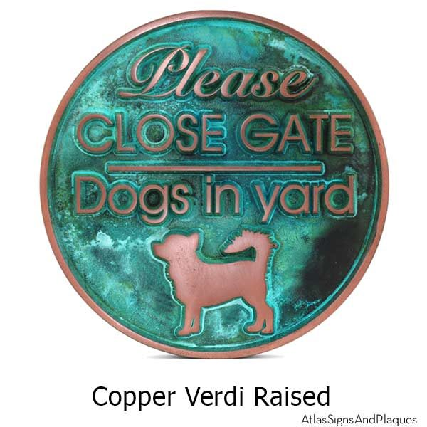 Dogs in Yard Sign