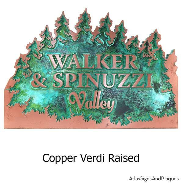 Forest for the Trees - Copper Verdi
