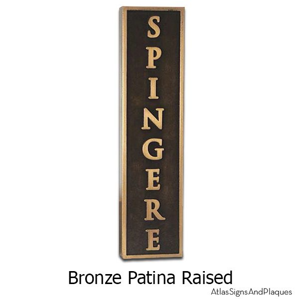 I say Open you say Spingere - Bronze