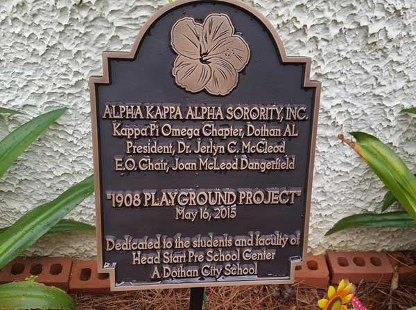 We were very very pleased with the good job you guys did with the plaque!!!! Thank you again! -Joan 6/2015