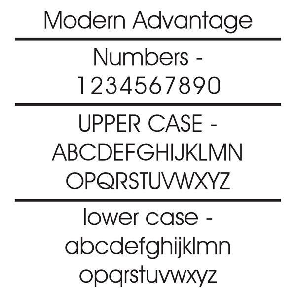 Modern Estate Address Sign