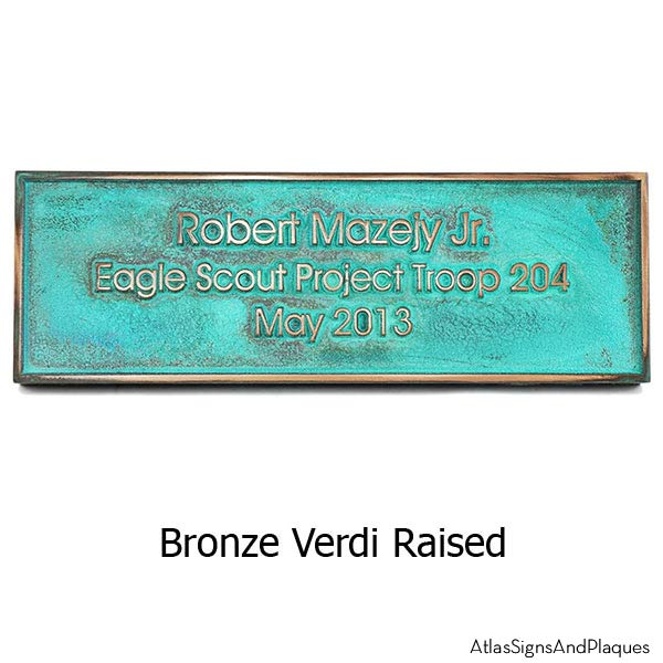 Modern Advantage No Solicitation Sign - Bronze Verdi