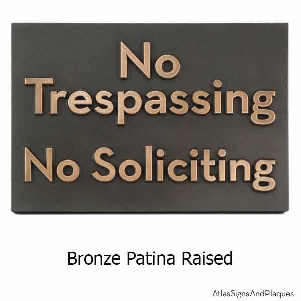 Neutraface Phrase Plaque - Bronze