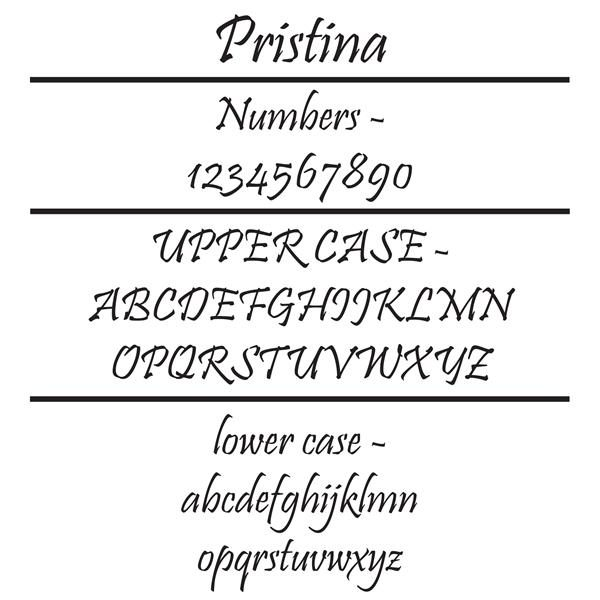 Pristina Font