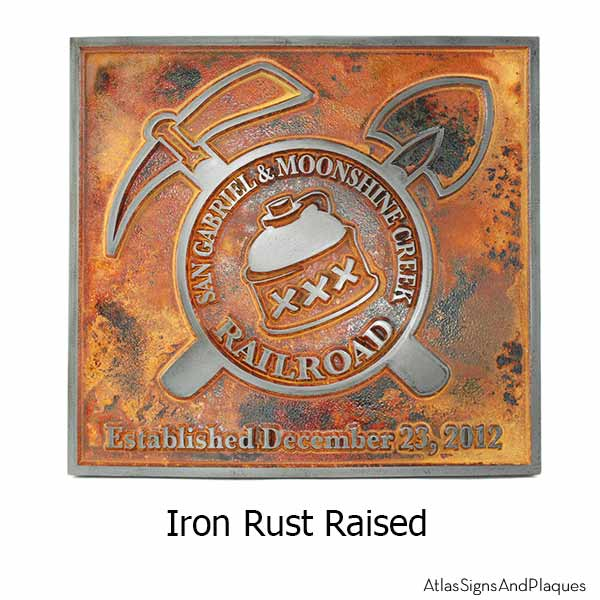 Custom Logo - Iron Rust