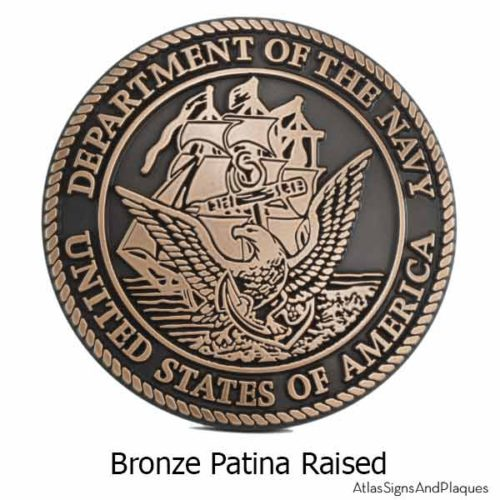 US Navy Plaque - Bronze