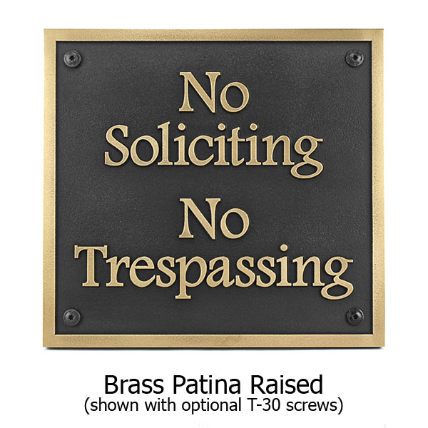 Almost Square No Soliciting