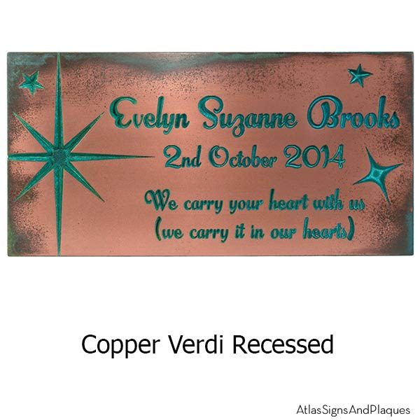 Celestial Sign - Copper Verdi