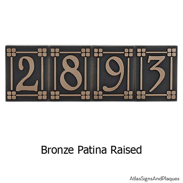Arts and Crafts Tiles - Bronze