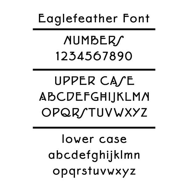 Eaglefeather Font