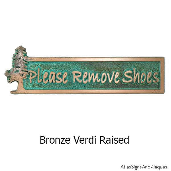 Evergreen Remove Shoes - Bronze Verdi