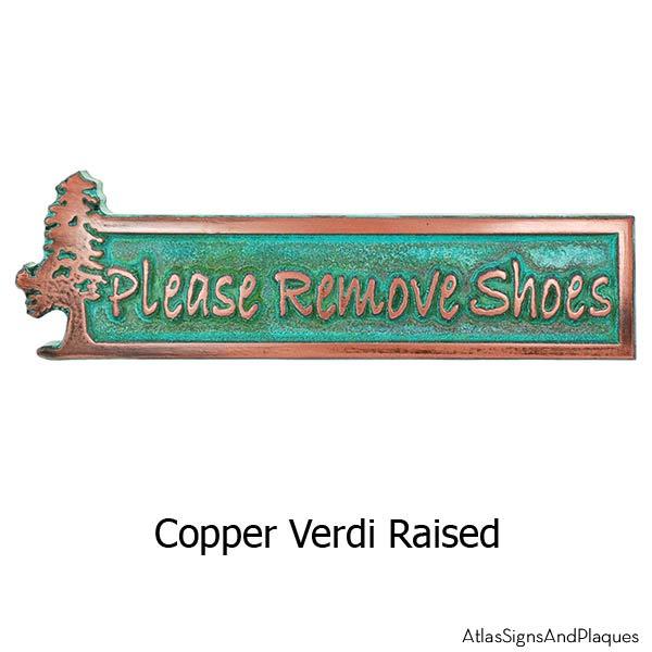 Evergreen Remove Shoes - Copper Verdi