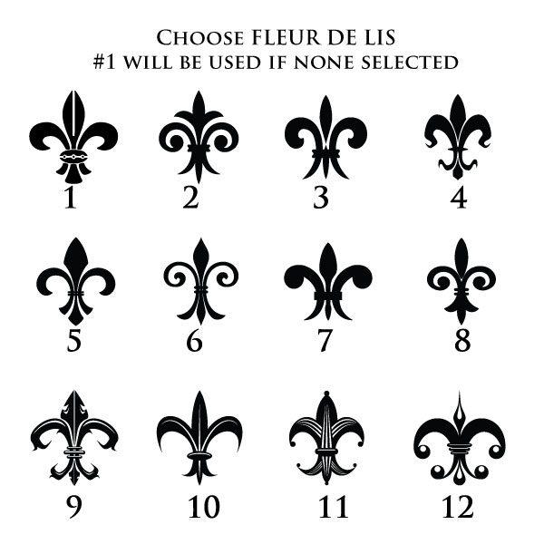 Fleur De Lis Options