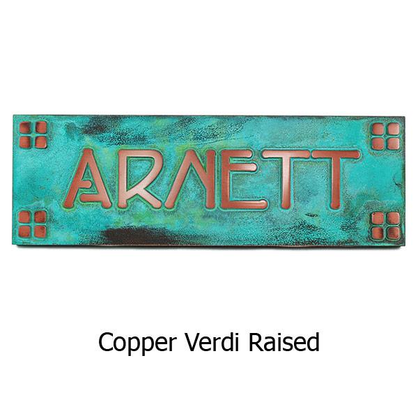 Frank Lloyd Wright Name Plate
