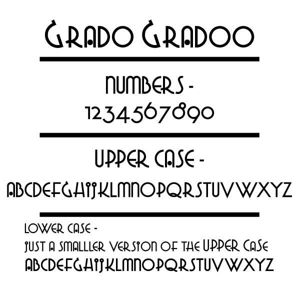 Grado Gradoo Font