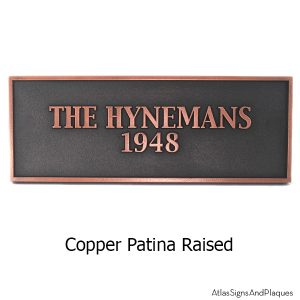 Historic Sign - Copper