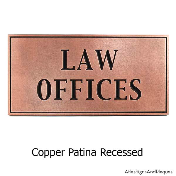Historic Sign - Copper