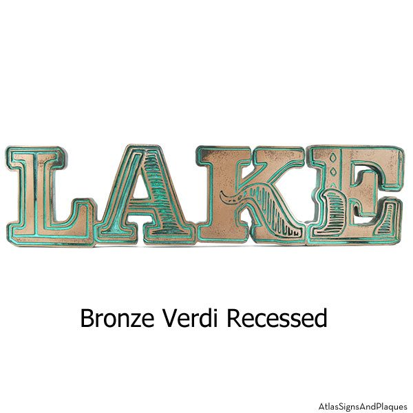 Lake - Bronze Verdi