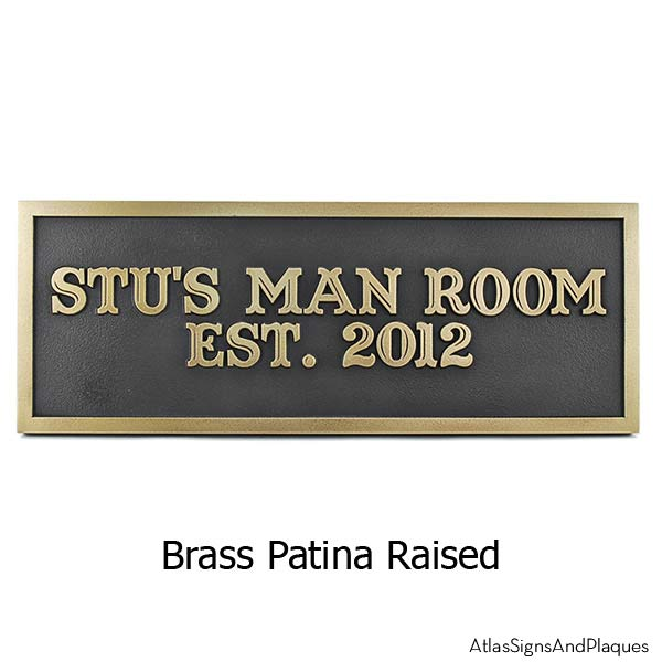 The Man Cave - Brass