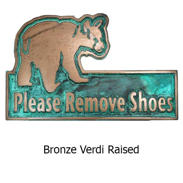 Mini Bear Cub Remove Shoes - Bronze Verdi