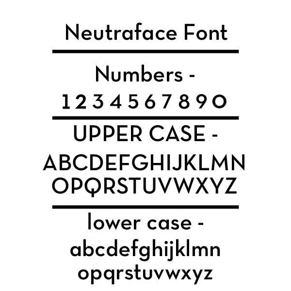 Neautraface Font