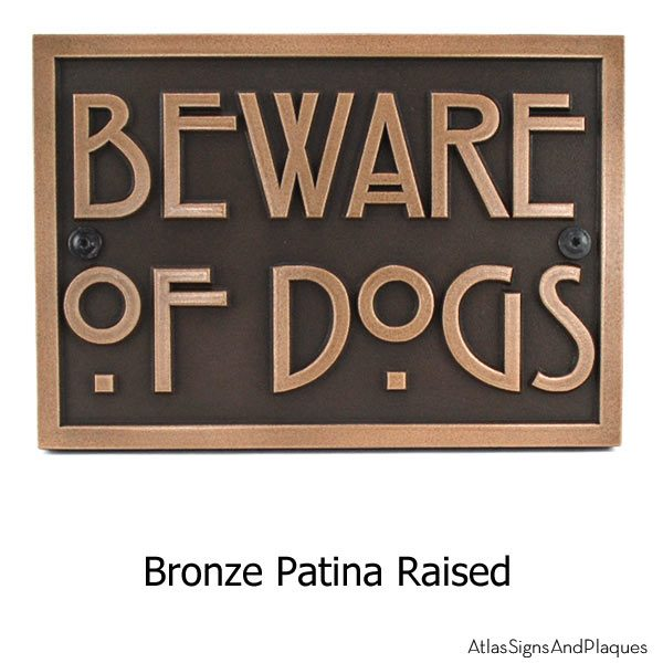 Stickley Phrase Plaque - Bronze Shown with Optional T30 Screws