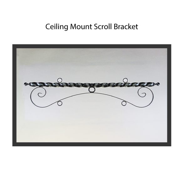 Ceiling Mount Scroll