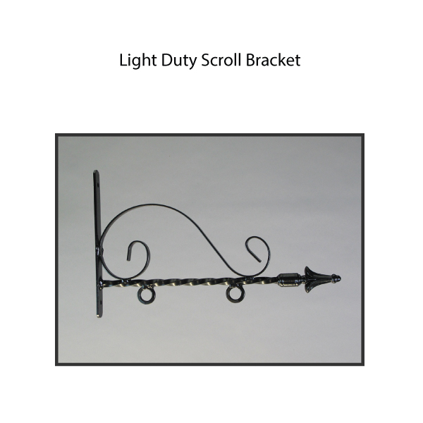 Light Duty Scroll Bracket