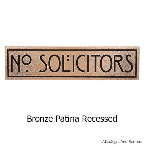 MINI STICKLEY Phrase Plaque - Bronze