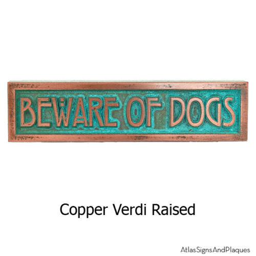 MINI STICKLEY Phrase Plaque - Copper Verdi