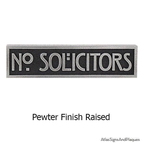 MINI STICKLEY Phrase Plaque - Pewter