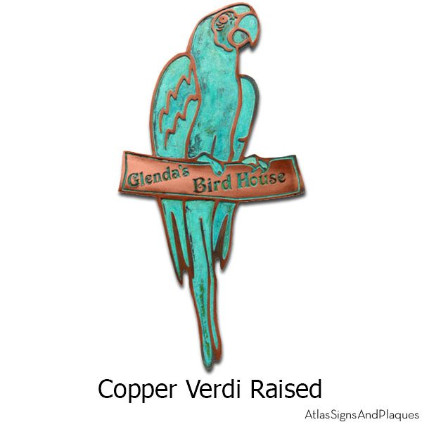 Parrot - Copper Verdi