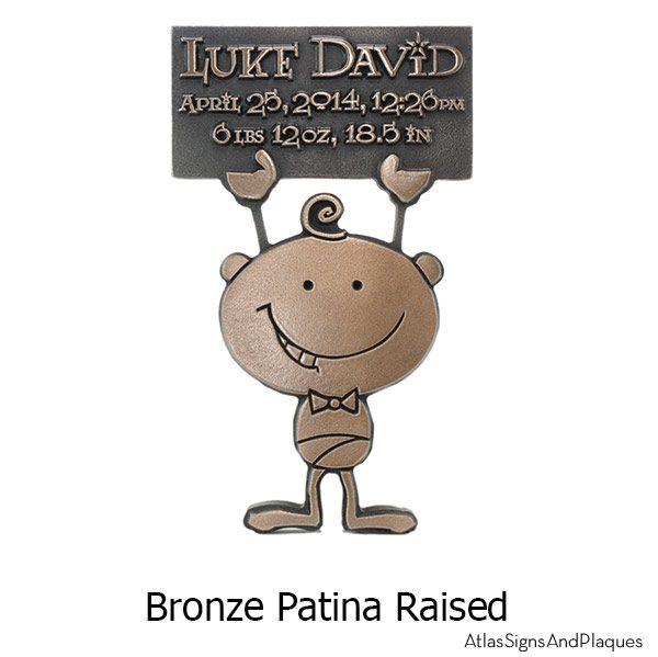 Baby Announcement - Bronze