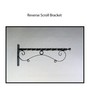 Reverse Scroll Bracket