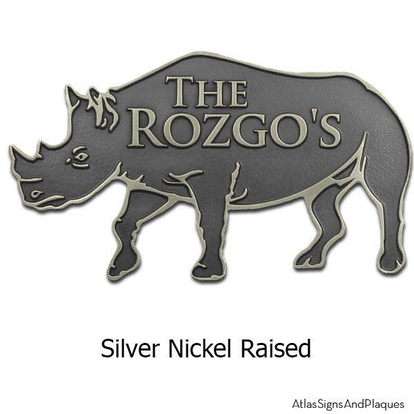 Rhino - Silver Nickel