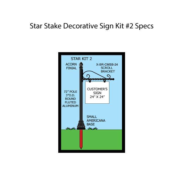 Star Stake Kit #2 Specs