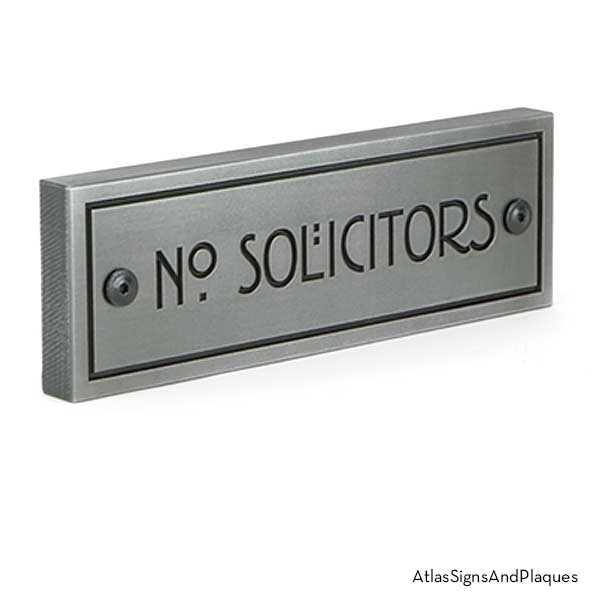 Stickley No Solicitor shown in Pewter