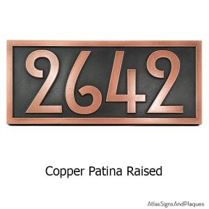 Stickley Numbers ONLY - Copper
