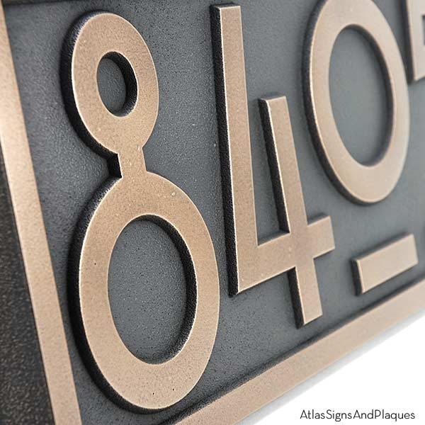 Stickley Numbers ONLY - Bronze Detail