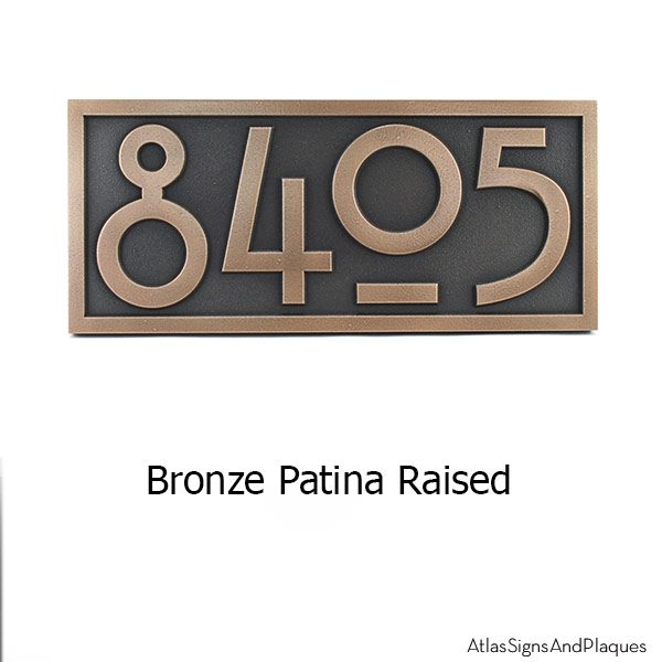 Stickley Numbers ONLY - Bronze