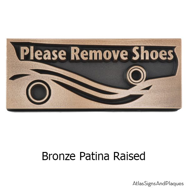 Swirls Remove Shoes - Bronze