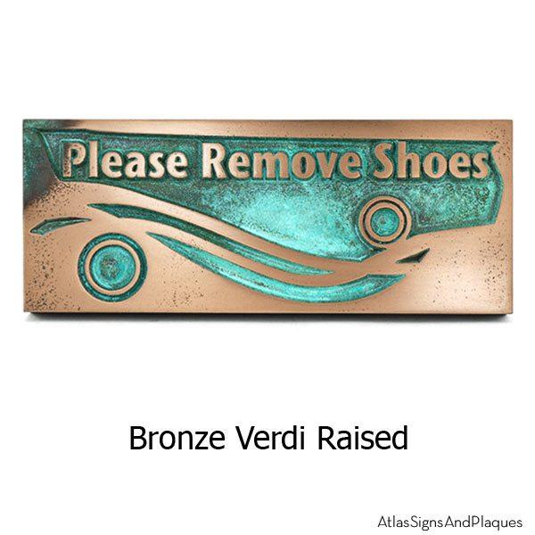 Swirls Remove Shoes - Bronze Verdi